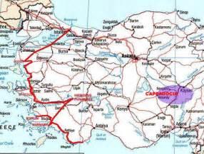 Western Turkey Map
