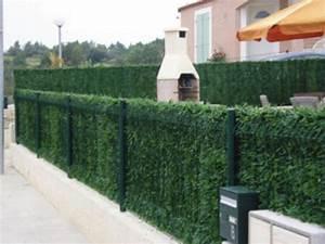 Pare Vue Pas Cher : haie vegetale artificielle deluxe h 2 x l 3 m 243 brins ~ Premium-room.com Idées de Décoration
