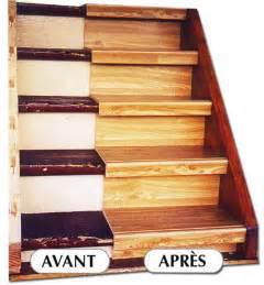 Renover Escalier by Comment Reparer Un Escalier En Bois