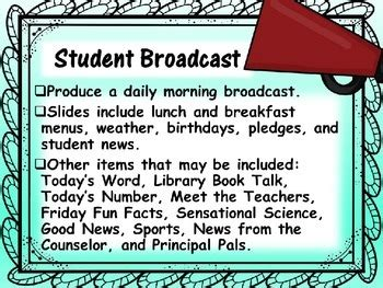 elementary school news student broadcast   os tech