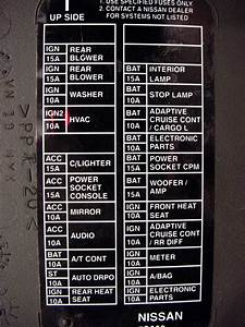 2008 Nissan Titan Fuse Box Diagram