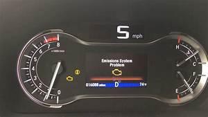 Honda Pilot 2016 Emissions System Problem