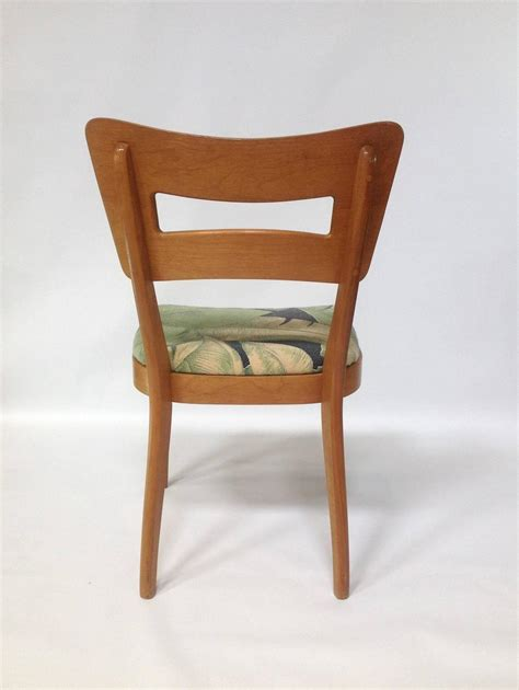 Heywood Wakefield Dining Chairs by Pair Of Mid Century Modern Heywood Wakefield Quot Biscuit