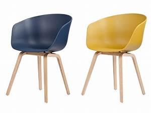 Chaise Scandinave Jaune Moutarde : chaise jaune moutarde ~ Teatrodelosmanantiales.com Idées de Décoration