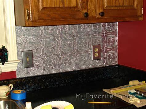 paint kitchen backsplash punched tin wallpaper backsplash wallpapersafari 1366