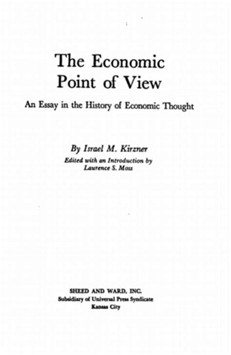 economic point  view  library  liberty