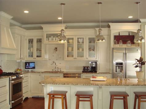 Want to repaint the cabinets white/cream, upgrade to