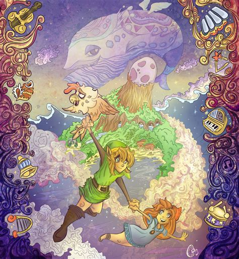 Take A Look At The Legend Of Zelda Links Awakening Artwork