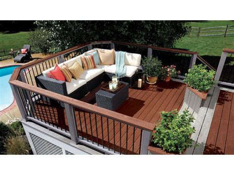 backyard deck images budgeting for a deck hgtv