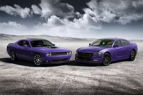 Dodge Challenger And Charger Go Plum Crazy By Car Magazine