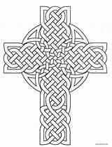 Coloring Cross Celtic Pages Printable Irish Adult Cool2bkids Rocks Drawing Easter Jesus Line Heart Visit Template Christianity sketch template