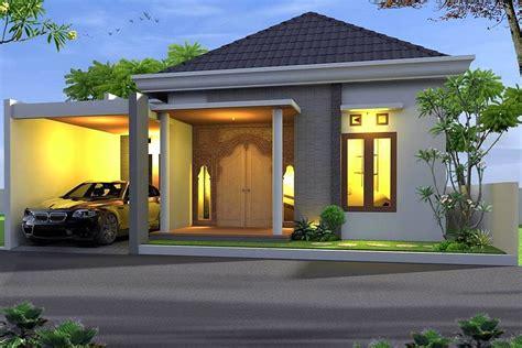 10 desain rumah minimalis 1 lantai modern terbaru