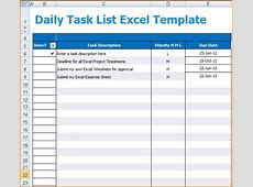 6+ daily task list template teknoswitch