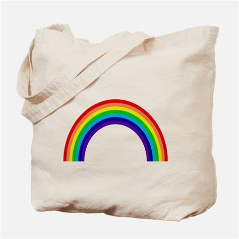 rainbow bags totes personalized rainbow reusable bags