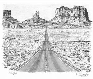 Grand Canyon (Monument Valley) - Original drawings, prints ...