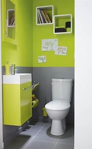 Deco Wc Gris : d co wc vert ~ Melissatoandfro.com Idées de Décoration