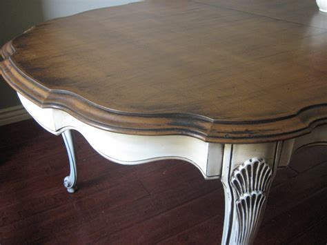 European Paint Finishes: French Provincial Dining Set