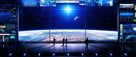 2615 sci fi 4k wallpapers and background images. Free Space Observation Deck 4K Hd Wallpaper for Desktop ...