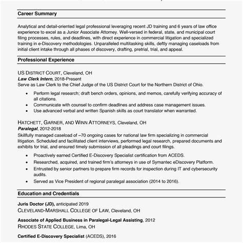 Proper Resume Exle by Resume Formats With Exles And Formatting Tips