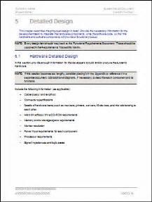 design document design document template instant