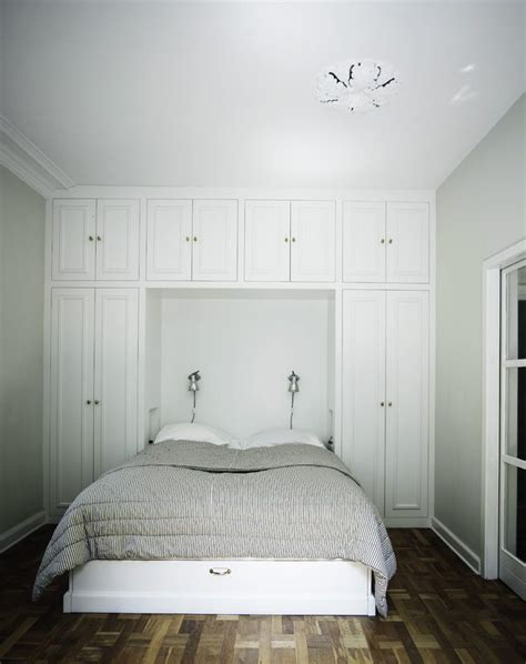 1000 ideas about bed in closet on bed in