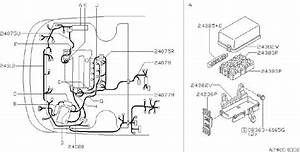 Nissan Sentra Harness Engine Room  Fitting  Body