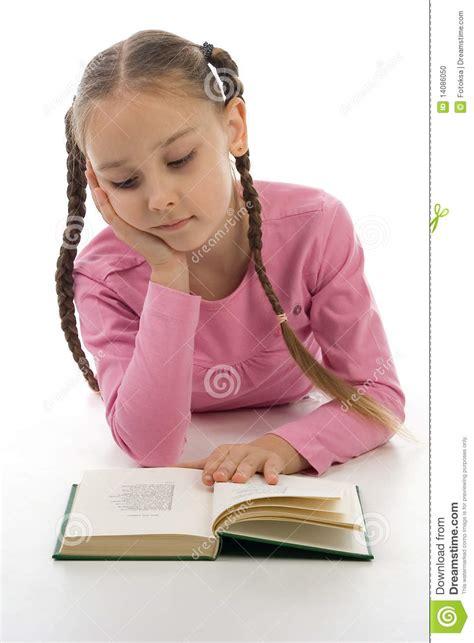 Girl Reading A Book Stock Photo  Image 14086050