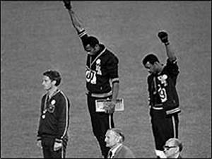 BBC ON THIS DAY | 17 | 1968: Black athletes make silent ...