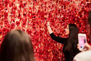 japanese artist covers the entire apartment with flowers With yayoi kusamas flower obsession