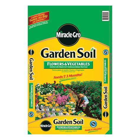 miracle gro garden soil for flowers vegetables