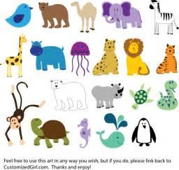 Cute Animal Clip Art