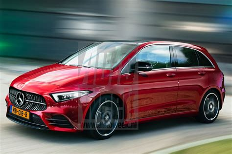 Mercedes B Class 2019 by Back To The Future 2019 Mercedes B Class Reveals All Its
