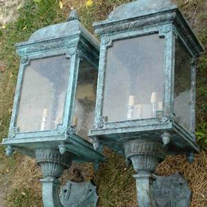 Bronze Exterior Wall Lights Lighting Recycling The Past Architectural Salvage