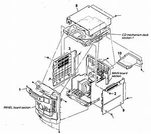 Sony Compact Component System Parts