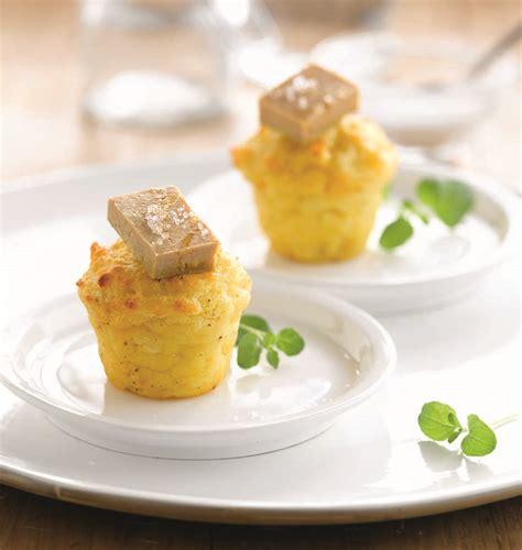 recette de cuisine a base de pomme de terre bouchées de pommes de terre soufflées au foie gras les