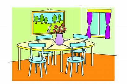 Dining Colouring Flashcards Flashcard British Pages Council