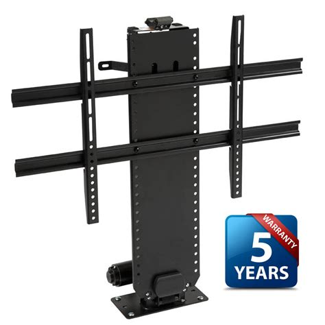 image of tv lift cabinets for flat whisper lift ii tv lift for flat screen tvs up to 65 quot