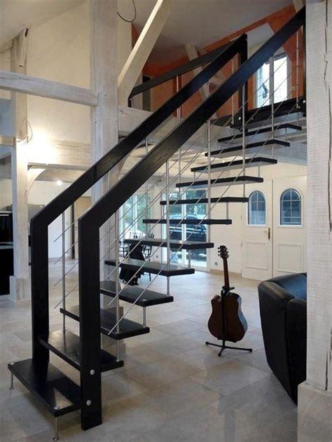 escalier suspendu design escalier contemporain mod 232 le