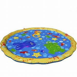 Outdoor Inflatable Water Sprinkler Play Mat - Life