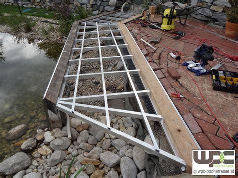 terrassenplatten bambus bilder wpc aluminium alu unterkonstruktion f 252 r