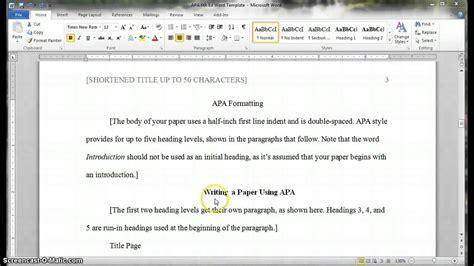 headings  subheadings  publication manual