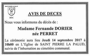 Avis De Deces Aisne : avis de d c s saint pierre la palud site officiel de ~ Dailycaller-alerts.com Idées de Décoration