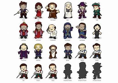 Character Romeo Juliet Sheet Cartoon Characters Cast
