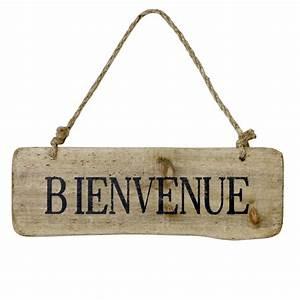 Pancarte En Bois : pancarte bienvenue bois bibelots cie bloomingville bibelots cie bloomingville ~ Teatrodelosmanantiales.com Idées de Décoration