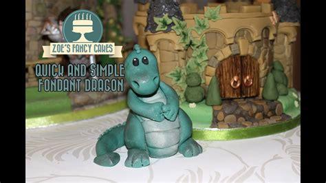 basic fondant dragon  decorate  cakes