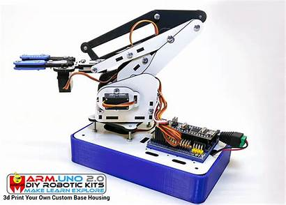 Robot Arm Base Robotic 3d Kit Assembly