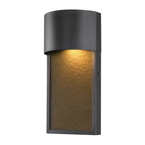 globe electric sutherland 8 5 watt bronze integrated led outdoor wall sconce 44227 wall sconces