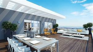 Modern Penthouse Outdoor Space