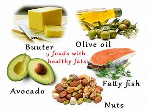 5 Foods With Healthy Fats For Your Body