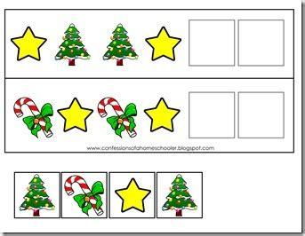 preschool activities confessions of a homeschooler 256 | ChristmasPattern thumb